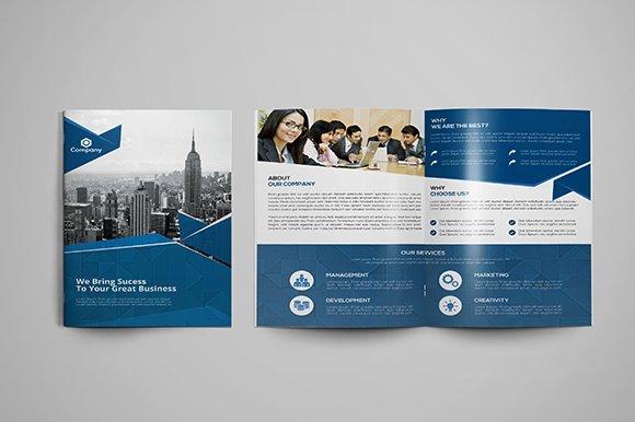 corporate bi fold brochure template brochure templates creative