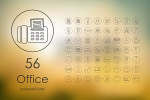 56 office icons