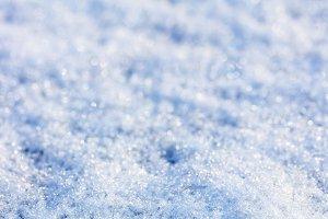 Natural snow texture