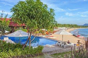 Beautiful tropical asian beach