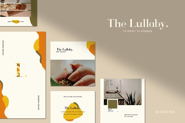 The Lullaby - Instagram Template V.6