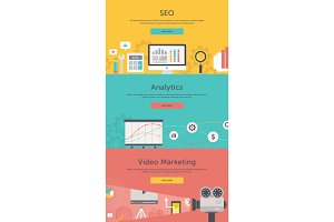 Seo, Web Analytics, Video Marketing