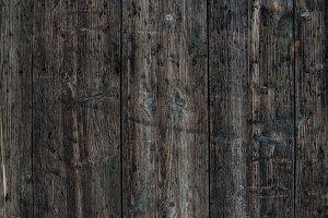 Dark weathered old wooden texture