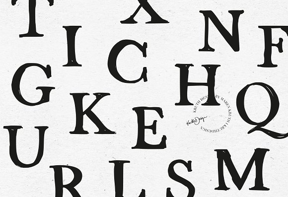 FONT / STRANDLIEBE in Serif Fonts - product preview 1