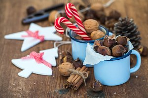 Traditional Christmas chestnuts