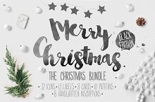 Christmas bundle hand-drawing icons