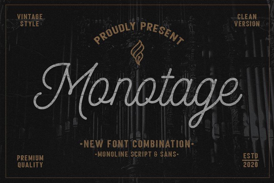 Monotage