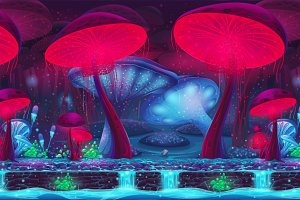 Magic Mushroom Hollow