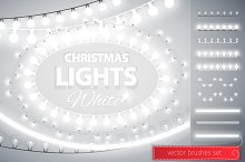 White Christmas Lights Decorations