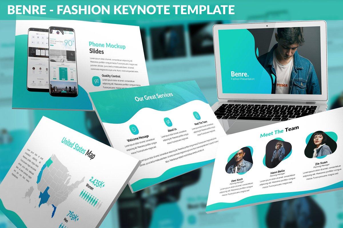 Benre - Fashion Keynote Template
