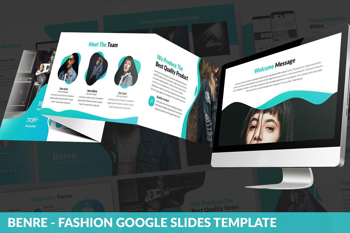 Benre - Fashion Google Slides