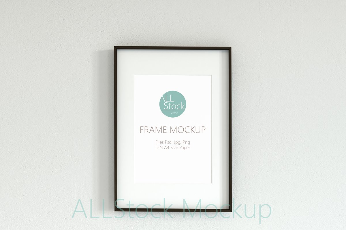 Frame Mockup Din A in Print Mockups - product preview 8