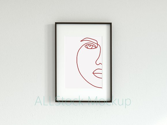 Frame Mockup Din A in Print Mockups - product preview 1