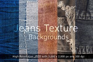 Jean Texture Backgrounds