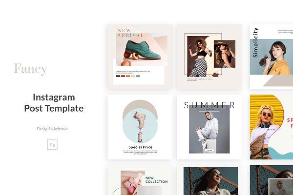 Fancy - Instagram Posts Template