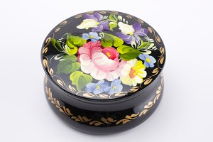 Ukrainian handmade jewellery box
