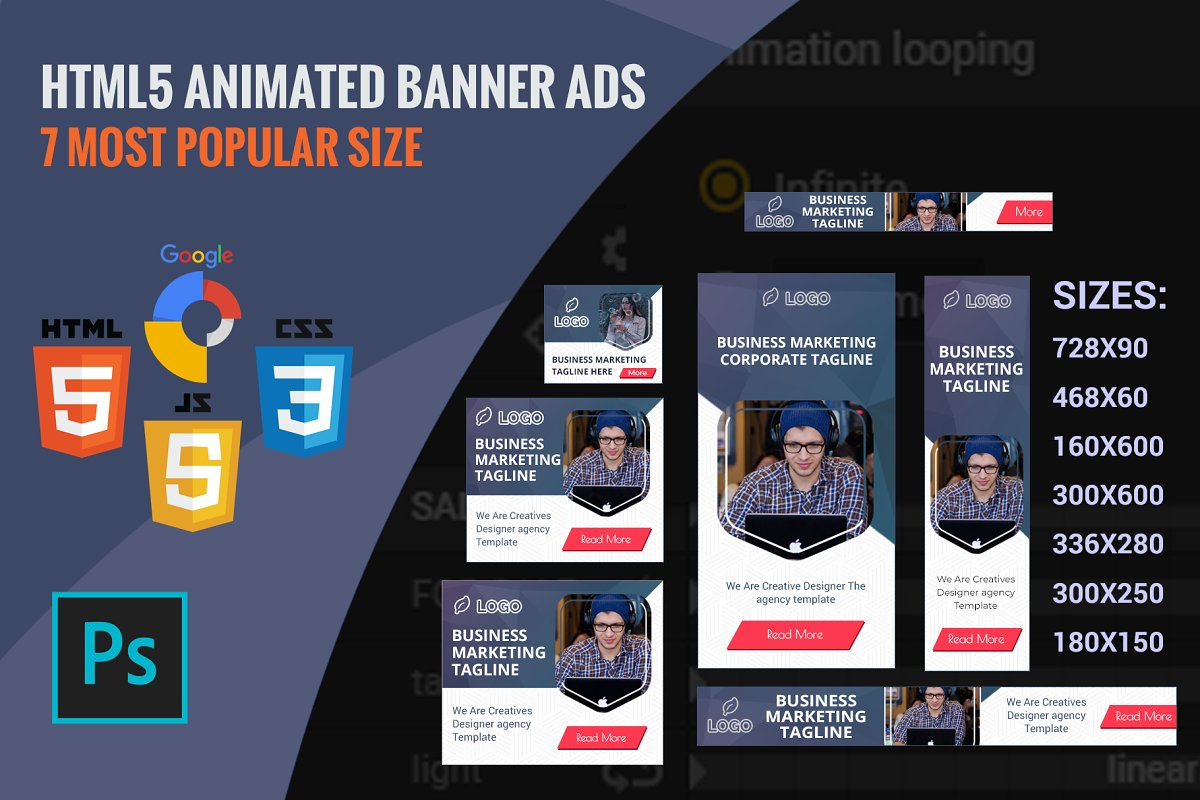 HTML5 Animated Banner Template V1