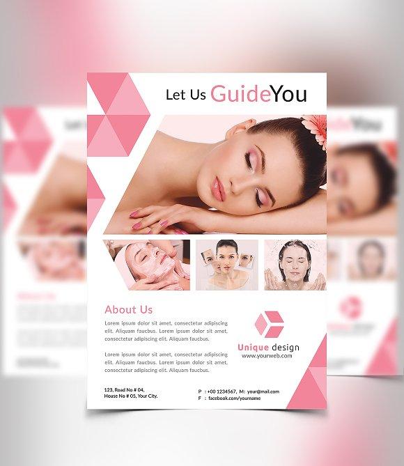 Beauty Spa Flyer Flyer Templates Creative Market