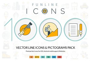 Funline 1000 icons pack