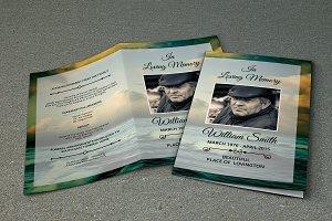 Funeral Program Template-V288
