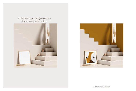 Ara Artwork Frame Mock-up Kit in Print Mockups - product preview 2