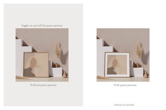Ara Artwork Frame Mock-up Kit in Print Mockups - product preview 3
