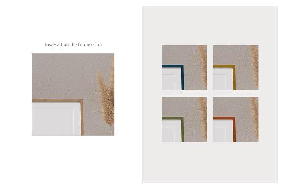 Ara Artwork Frame Mock-up Kit in Print Mockups - product preview 4