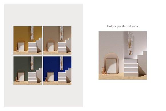 Ara Artwork Frame Mock-up Kit in Print Mockups - product preview 5