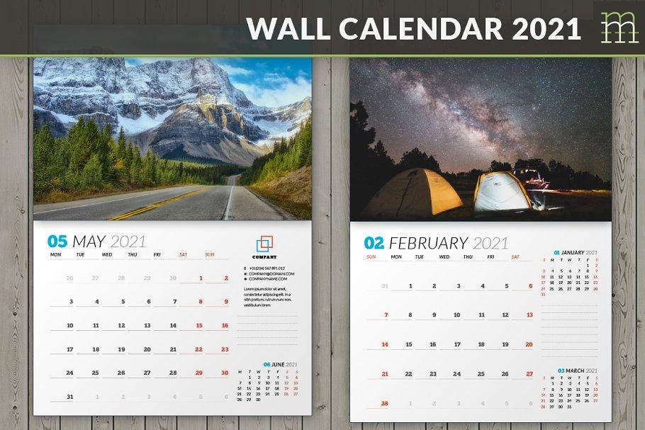 Wall Calendar 2021 (WC031-21)