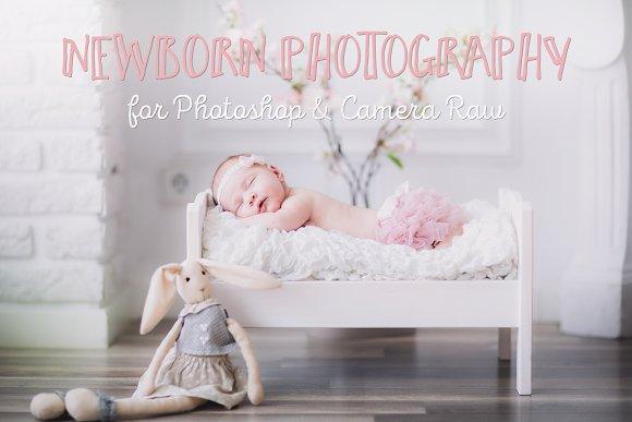 Essential newborn photoshop actions actions creative market