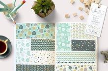 Peony Floral Digital Paper Pack
