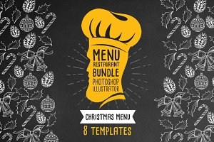 Christmas Menu Bundle