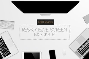 Responsive Screen Mock-Up