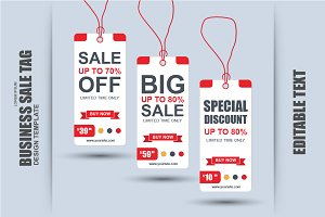 Paper Sale Tag Vector
