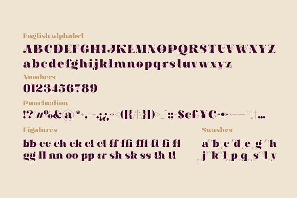 Hallie - Bold Classic Font in Serif Fonts - product preview 5