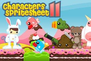 Characters Spritesheet 11