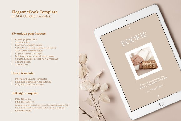 eBook duopack / CANVA, INDD in Magazine Templates - product preview 4
