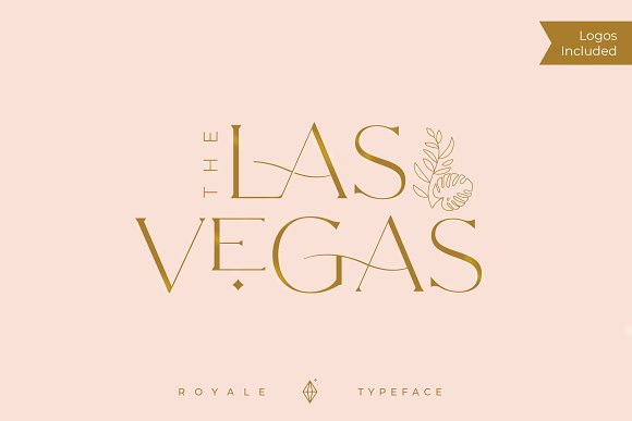 Royale Luxurious Typeface + LOGOS in Serif Fonts - product preview 6