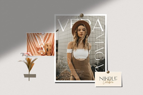 Royale Luxurious Typeface + LOGOS in Serif Fonts - product preview 11