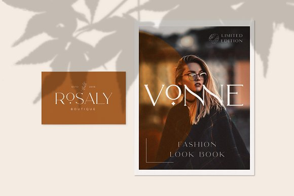 Royale Luxurious Typeface + LOGOS in Serif Fonts - product preview 15