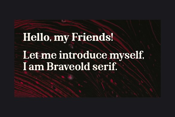 Braveold - Intro Sale 70% Off in Serif Fonts - product preview 8
