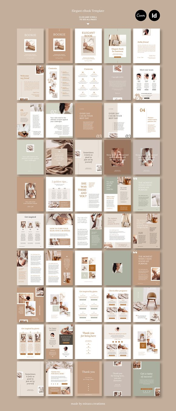 eBook duopack / CANVA, INDD in Magazine Templates - product preview 7