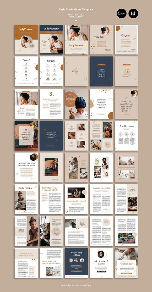 eBook duopack / CANVA, INDD in Magazine Templates - product preview 8