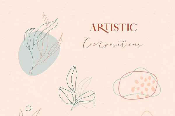 Floral Abstract Collection.