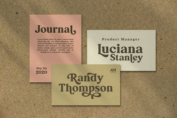 Ranille in Serif Fonts - product preview 11