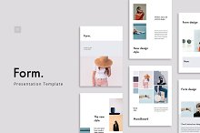 FORM - Keynote Vertical Template by  in Presentations