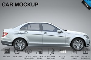 Car Mockup 01
