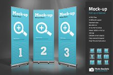 Roll-Up or Banner Mock-up