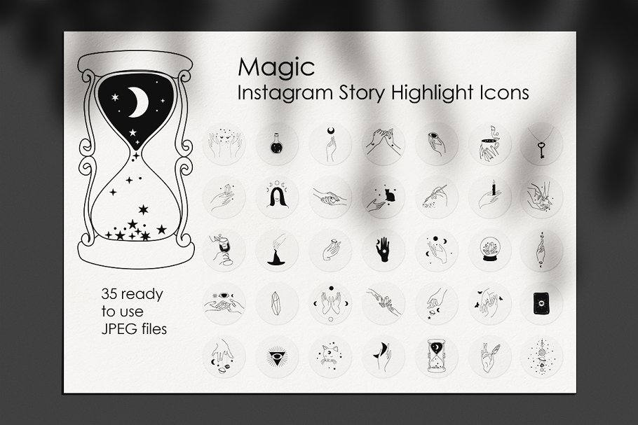 Magic Instagram Story Icons