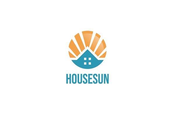House Sun Logo